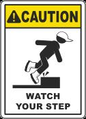 Step slip hazard 1