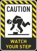Step slip hazard 2