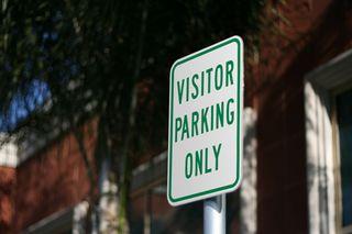 Visitor-parking