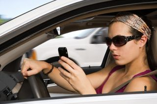 No Cell Phone While Driving